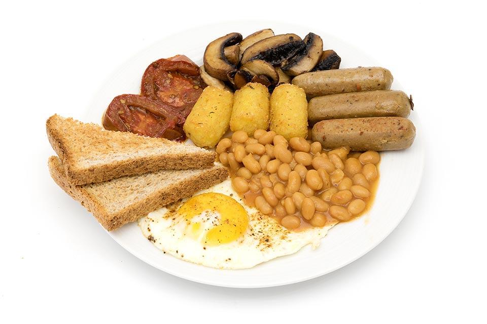 Englisches Frühstück bei mir zu Hause :-)