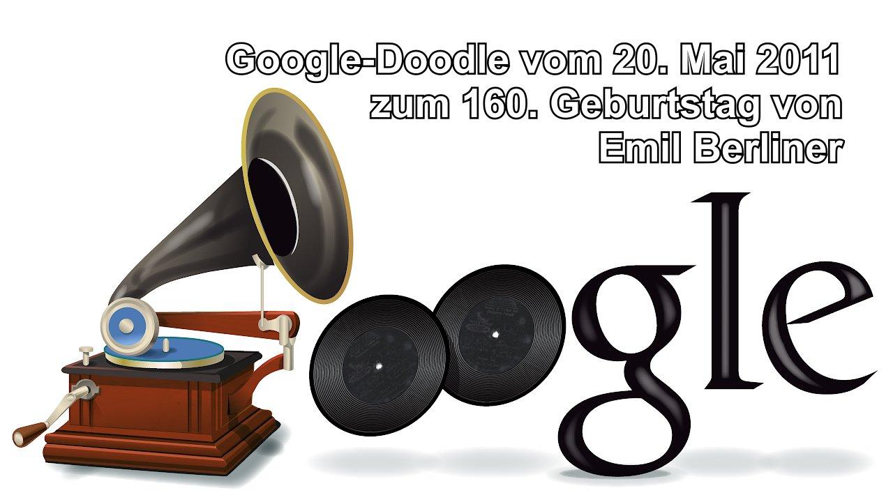 Emil Berliner (Google Doodle 2011)