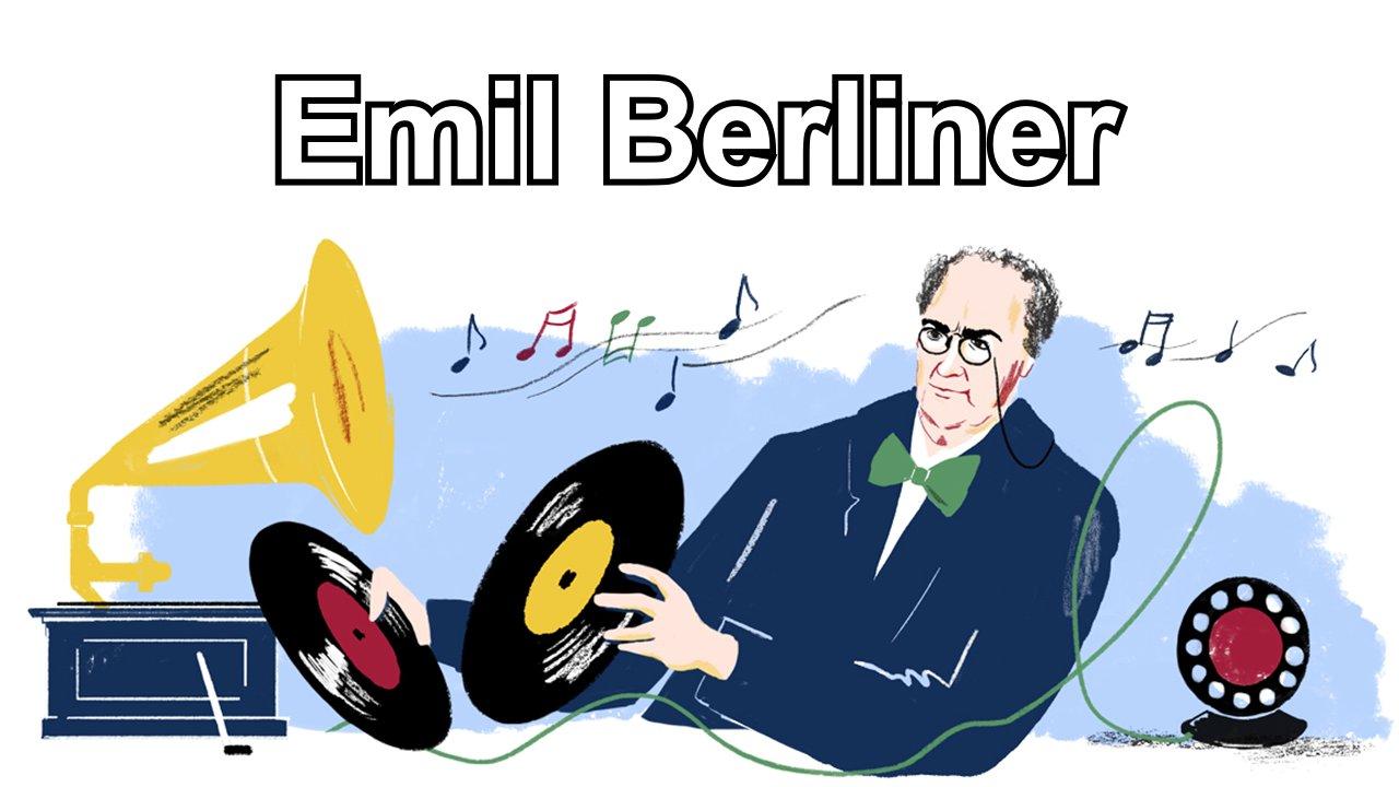 Emil Berliner (Google Doodle)