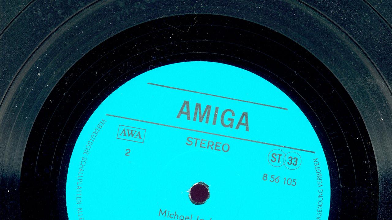 Amiga-Schallplatte