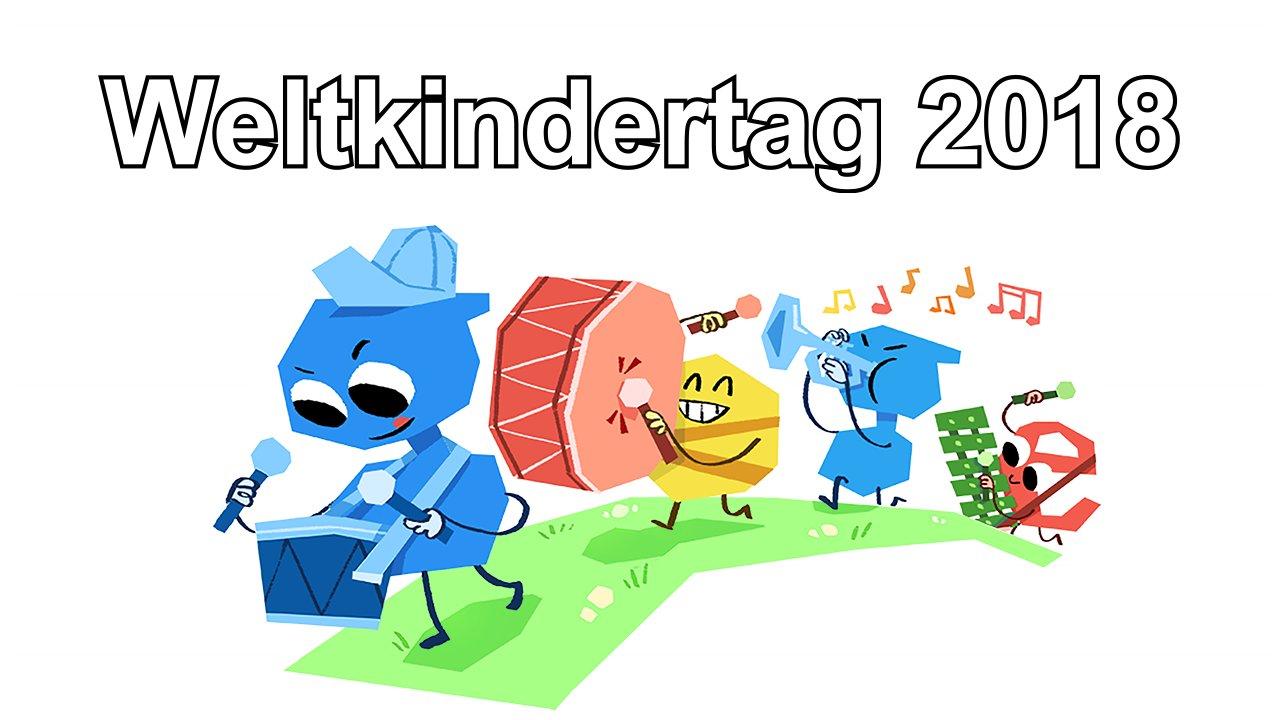 Weltkindertag 2018 (Google Doodle)