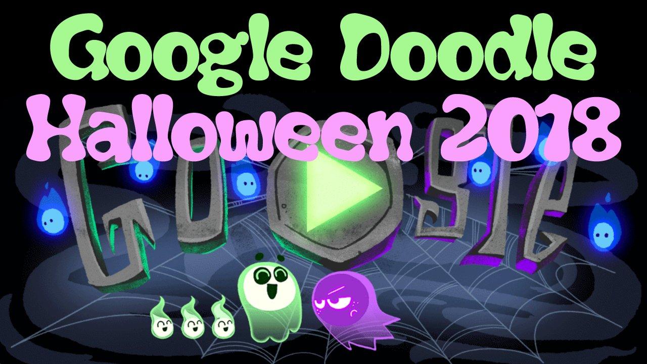 Halloween 2018 (Google-Doodle)