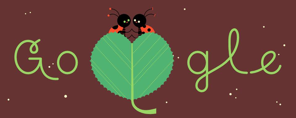 Valentinstag 2019 – Käfer (Google Doodle)