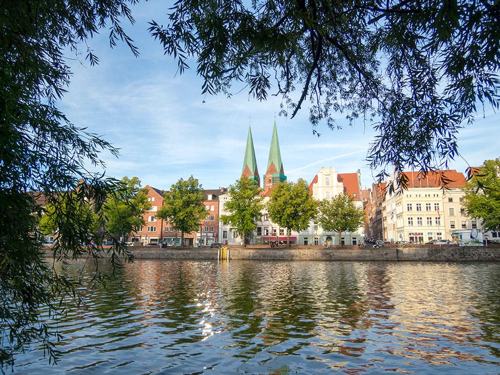 Lübecker Altstadt mit Marienkirche