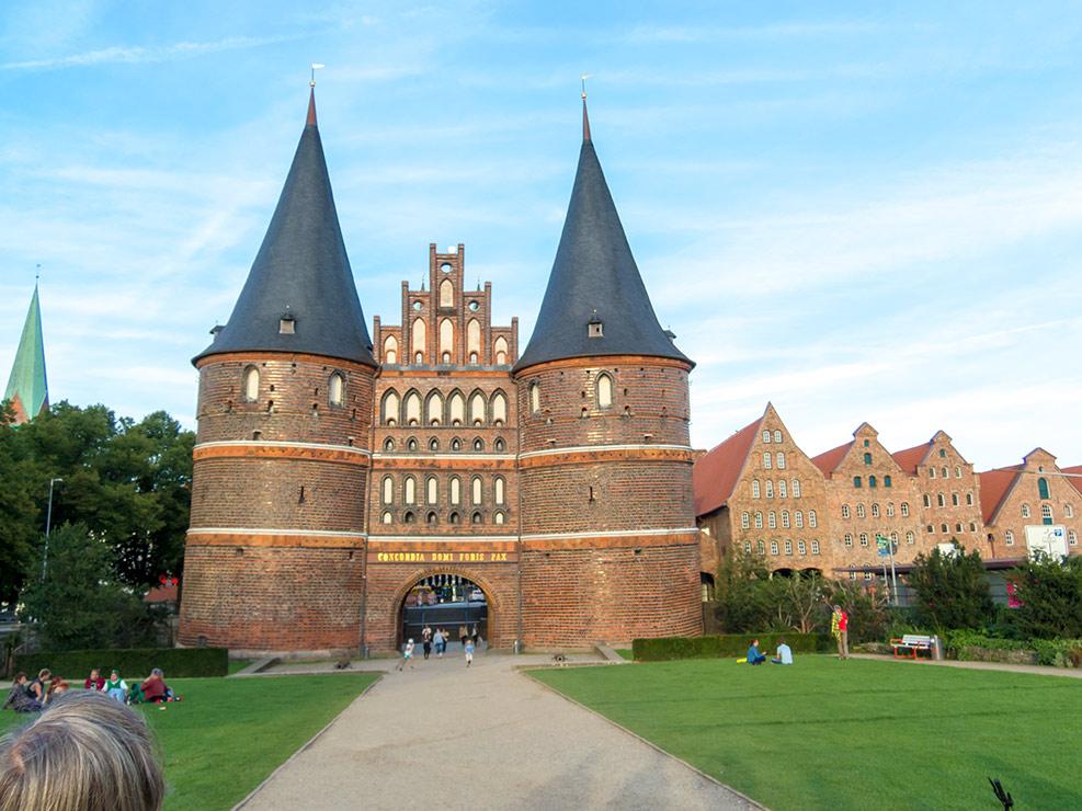 Wahrzeichen von Lübeck – das Holstentor