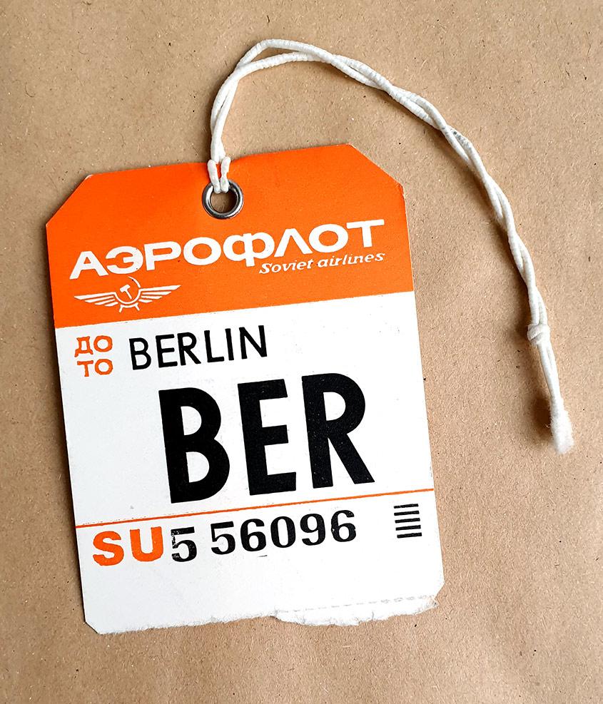 BER Berlin mit Aeroflot