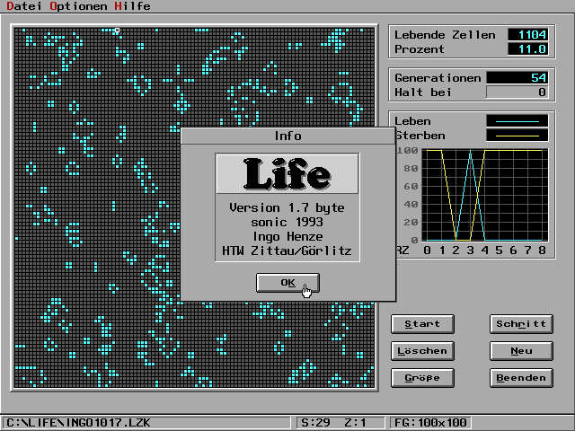 Game of Life – sonic 1993