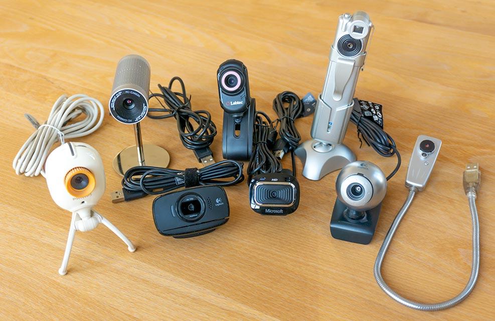 Kleine Webcam Sammlung